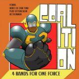 Pochette Coalition (split avec ActionMen, Hero Of Our Time, Play Attenchon)