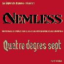 Pochette de Nemless / Quatre Degrés Sept