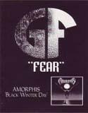 Pochette Black Winter Day / Fear (split avec Amorphis)