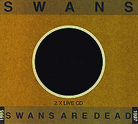 Pochette de Swans Are Dead