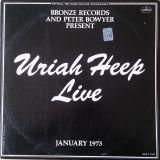 Pochette Uriah Heep Live