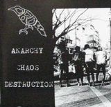 Pochette Anarchy Chaos Destruction