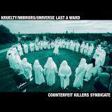 Pochette Counterfeit Killers Syndicate (split avec Universe Last A Ward, Mirrors)