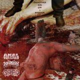 Pochette Entrevista Con Los 3 Asesinos! (split avec Anal Volcano, Geropetoro)