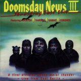 Pochette Doomsday News III - Thrashing East Live (split avec Kreator, Tankard, Sabbat)