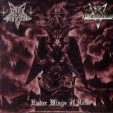 Pochette Under Wings Of Hell (split avec Infernal)