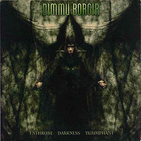 Pochette de Enthrone Darkness Triumphant