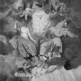 Pochette Crushing The Holy Trinity (split avec Deathspell Omega, Stabat Mater, Musta Surma, Clandestine Blaze, Exordium)