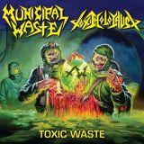 Pochette de Toxic Waste (split avec Toxic Holocaust)