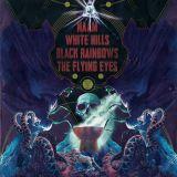 Pochette Split avec Naam, Black Rainbows, The Flying Eyes