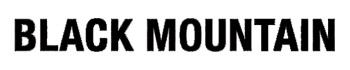 logo Black Mountain