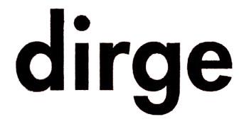 logo Dirge