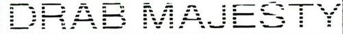 logo Drab Majesty