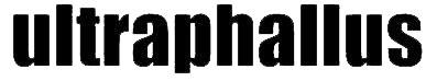 logo Ultraphallus