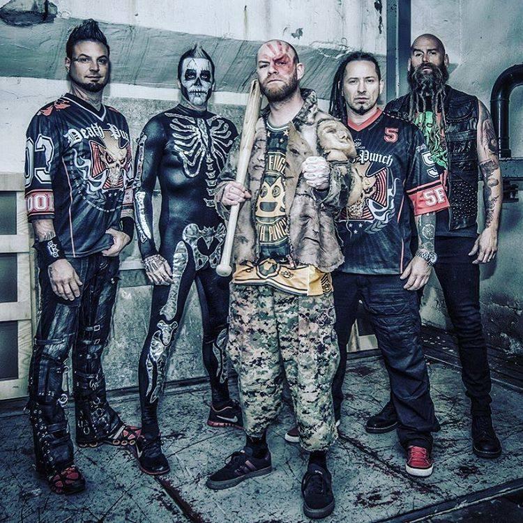 five finger death punch  Five Finger Death Punch : chroniques, biographie, infos | Metalorgie