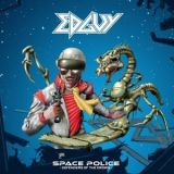 Pochette Space Police – Defenders Of The Crown par Edguy