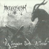Pochette As Jerusalem Burns... Al'Intisar par Melechesh