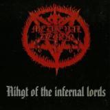 Pochette Night of The Infernal Lords (split avec InVocation)