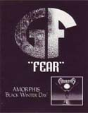 Pochette Black Winter Day / Fear (split avec Amorphis)