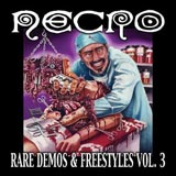 Pochette Rare Demos & Freestyles, Vol. 3