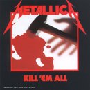 Pochette Kill'em All par Metallica
