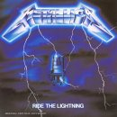 Pochette Ride The Lightning par Metallica