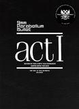 Pochette act I