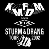 Pochette Sturm & Drang Tour 2002