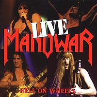 Pochette Hell on Wheels par Manowar