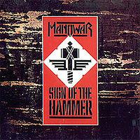 Pochette Sign of the Hammer par Manowar
