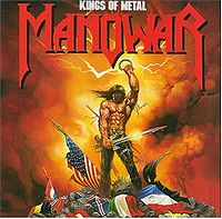 Pochette Kings of Metal par Manowar