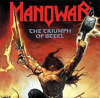 Pochette The Triumph of Steel par Manowar