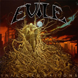 Pochette Infected Nations par Evile