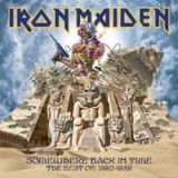 Pochette Somewhere Back in Time par Iron Maiden
