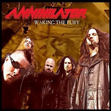 Pochette Waking The Fury par Annihilator