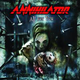 Pochette All For You par Annihilator