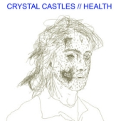 Pochette Crystal Castles vs. Health EP