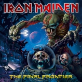 Pochette The Final Frontier par Iron Maiden