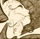 Pochette Split avec Her Breath On Glass