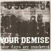 Pochette Your Days Are Numbered (Demo)
