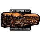 Pochette Patent Cruciform Casket 10'' par Breather Resist
