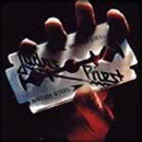 Pochette British Steel par Judas Priest
