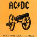 Pochette For Those About To Rock par ACDC