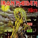 Pochette Killers par Iron Maiden