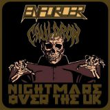 Pochette Nightmare Over The Uk (split avec Enforcer)