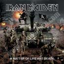 Pochette A Matter Of Life And Death par Iron Maiden