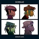Pochette Demon Days par Gorillaz