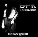 Pochette SPK Kommando (split EP avec Antaeus, Deviant et Hell Militia)