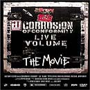 Pochette Live Volume dvd