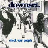 Pochette Check Your People par Downset.